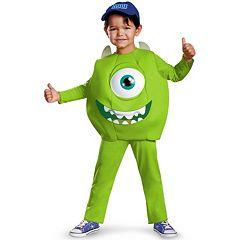 Disney \/ Pixar Monsters University Mike Deluxe Costume Toddler\/Kids by