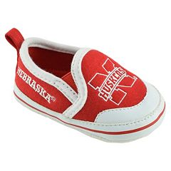 Baby Nebraska Cornhuskers Crib Shoes