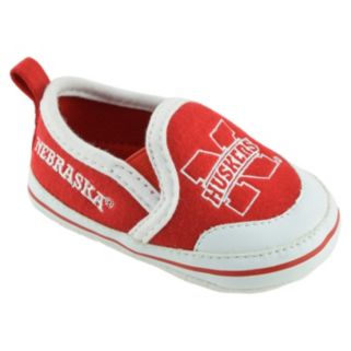 Baby Nebraska Cornhuskers Crib Shoes