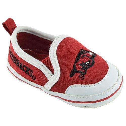 Baby Arkansas Razorbacks Crib Shoes