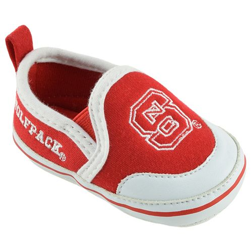 Baby NC State Wolfpack Crib Shoes