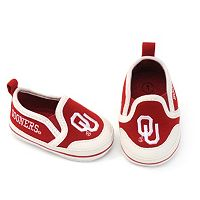 Baby Oklahoma Sooners Crib Shoes