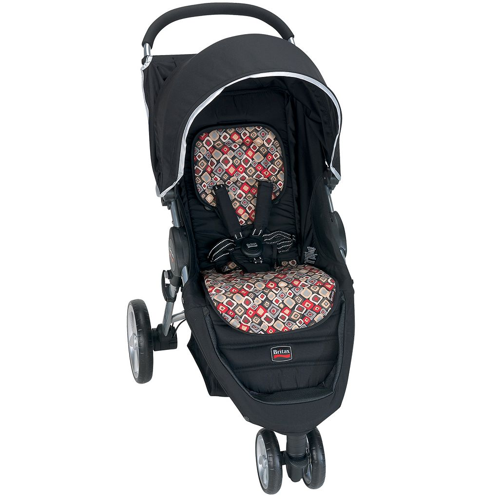 Britax B-AGILE Fashion Insert - Redwood