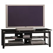 Bush Furniture Midnight Mist Wide Video Base