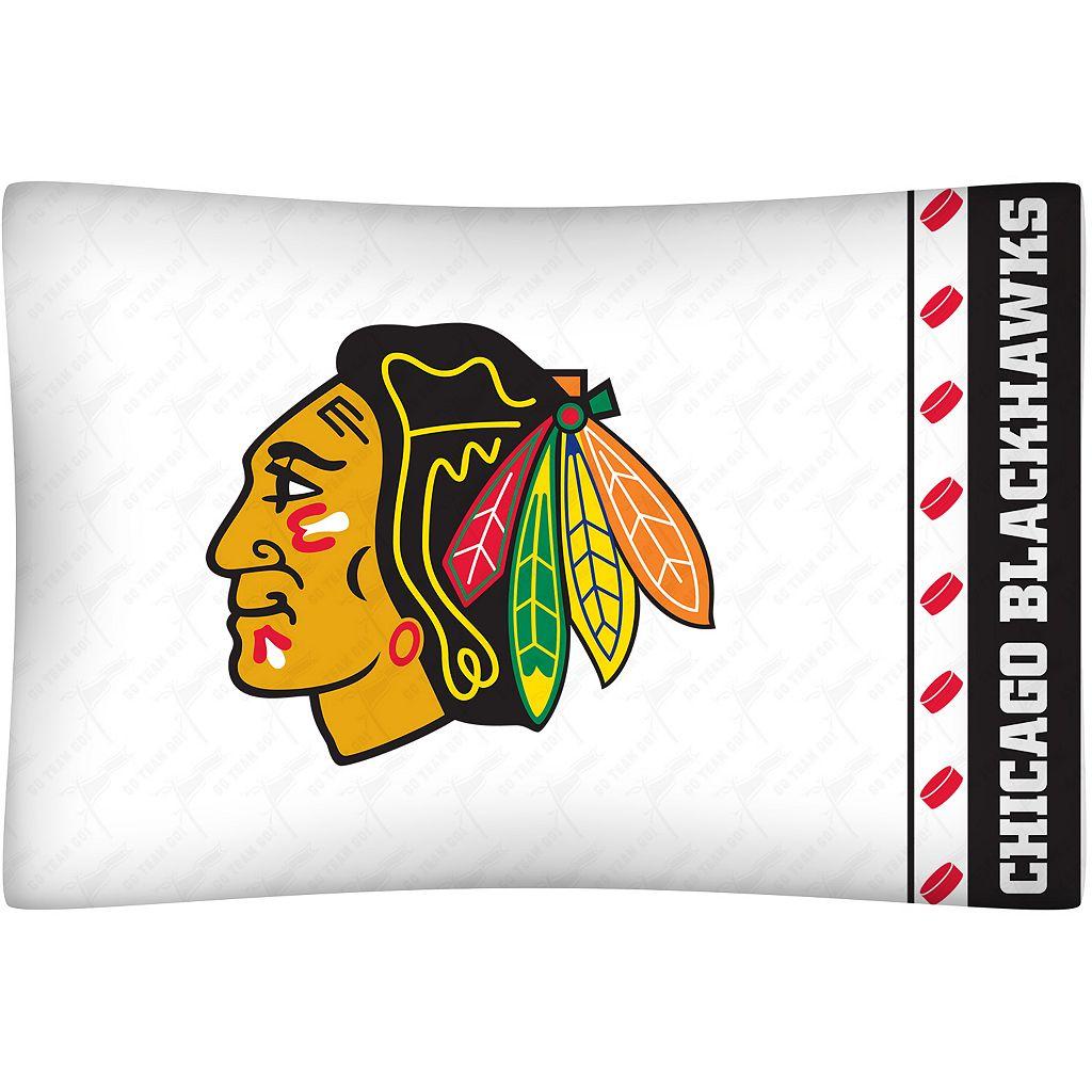 Chicago Blackhawks Standard Pillowcase
