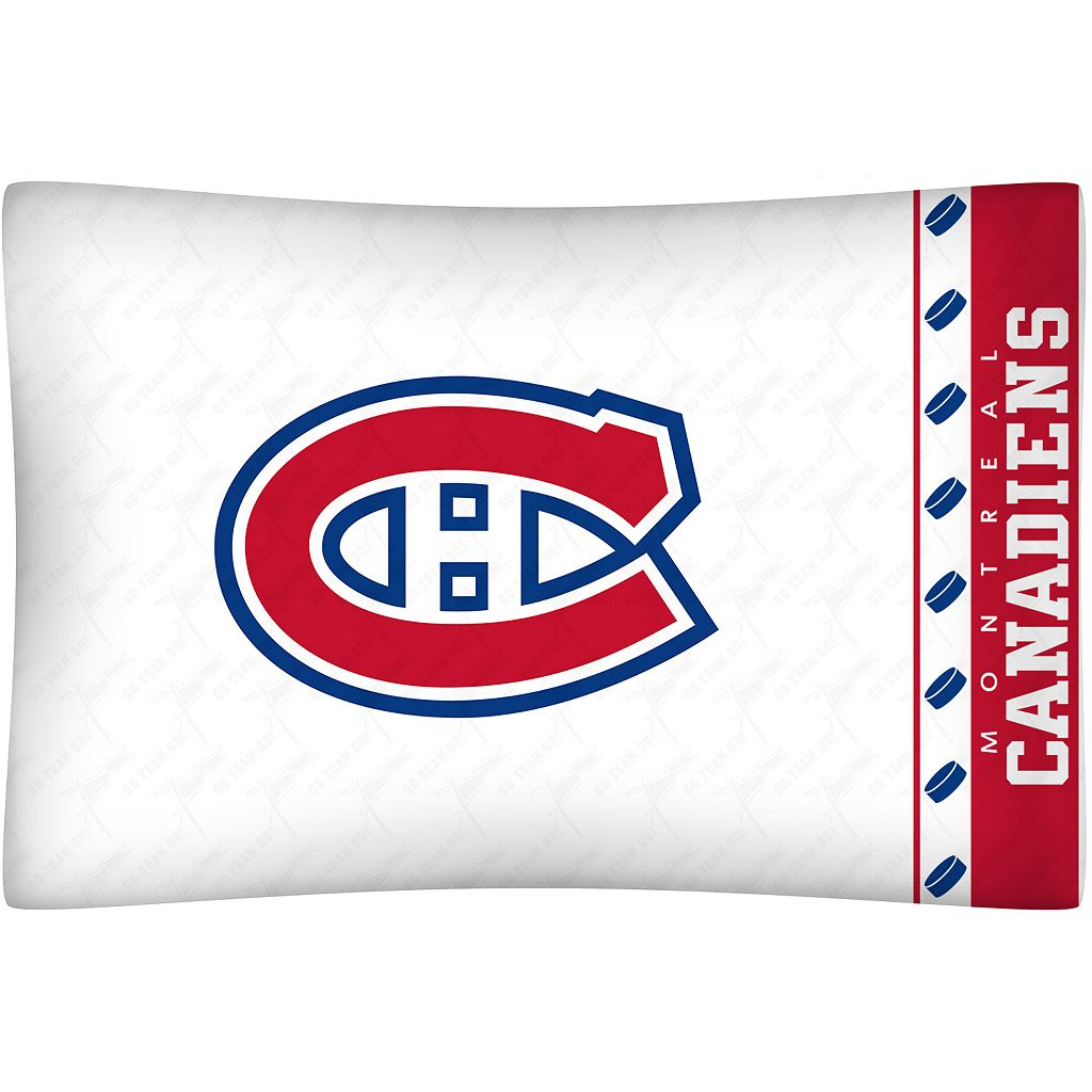 Montreal Canadiens Standard Pillowcase