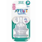 Avent Slow-Flow Bottle Nipple Set