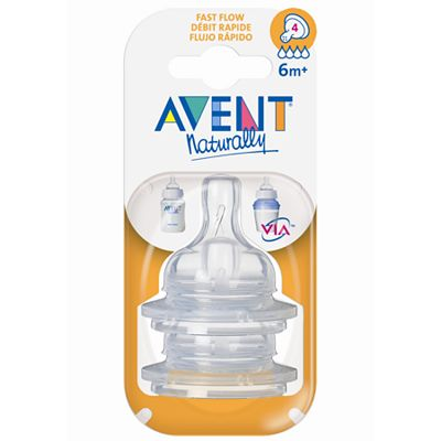 Avent Fast-Flow Bottle Nipple Set