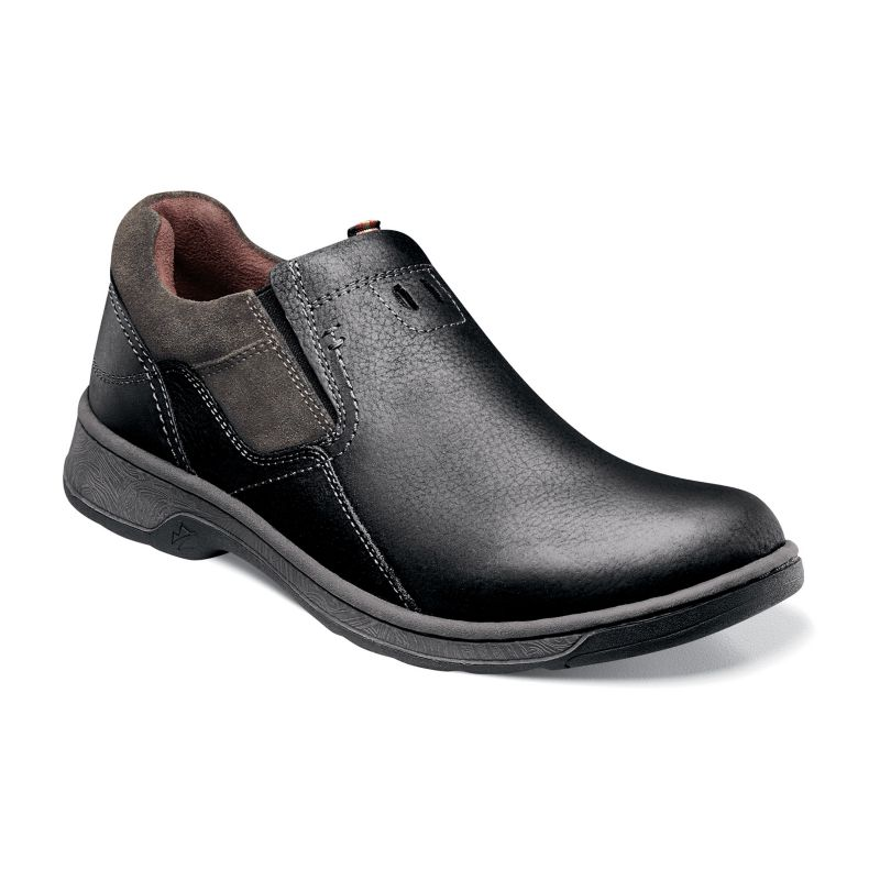 Nunn Bush Brule Leather Slip On Shoes Men