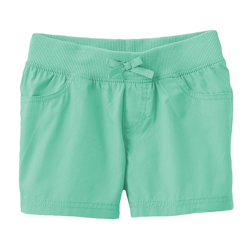 Jumping Beans Poplin Shorts - Girls 4-7