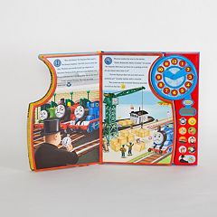 Thomas & Friends Thomas Tells Time Deluxe Clock Play-a-Sound Book