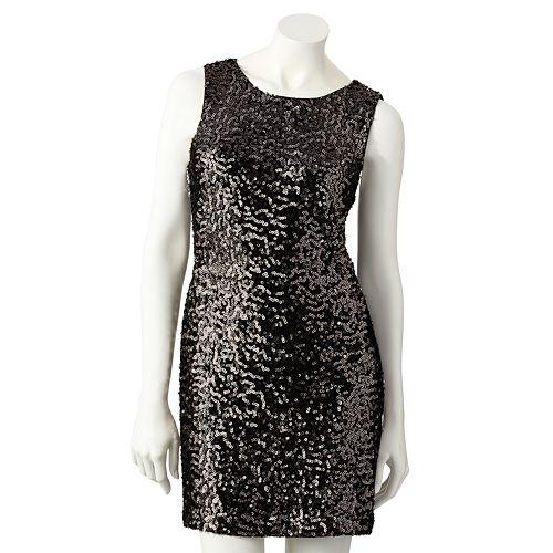 LC Lauren Conrad Sequin Sheath Dress - Women's