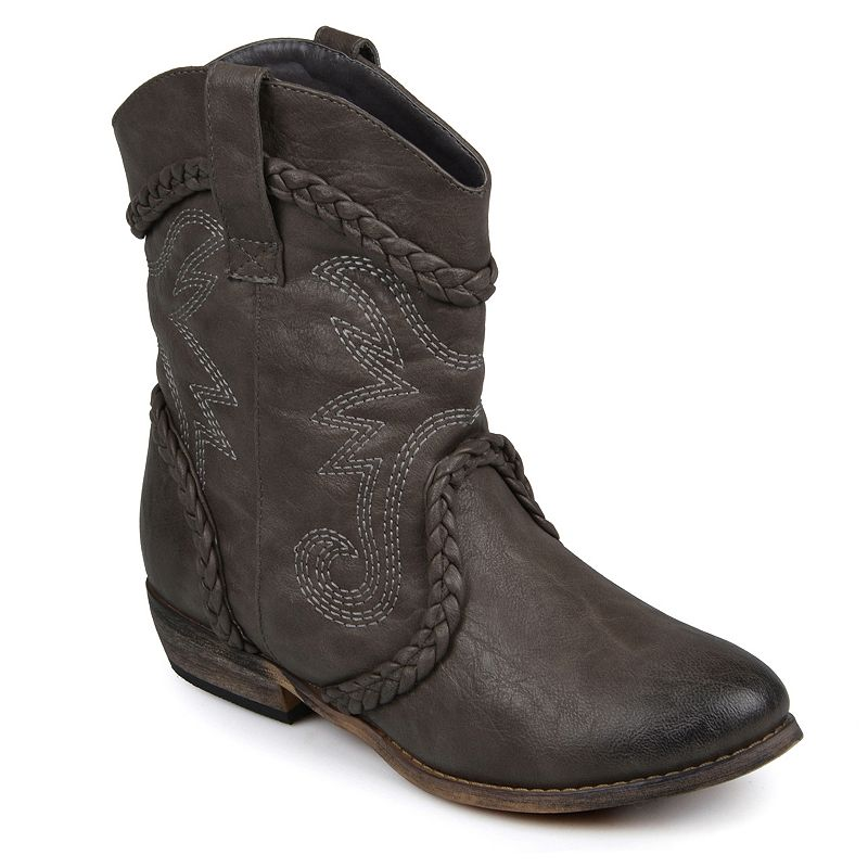 Journee Collection Weezy Cowboy Boots - Women