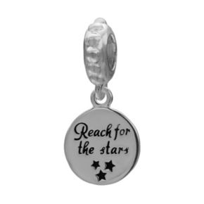 Individuality Beads Sterling Silver Reach for the Stars Charm