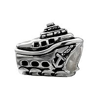 Individuality Beads Sterling Silver Ship Bead