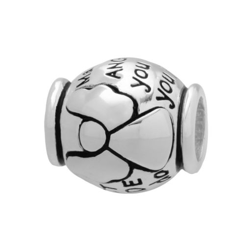 Individuality Beads Sterling Silver Guardian Angel Bead