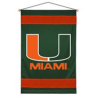 Miami Hurricanes Wall Hanging