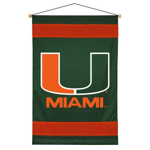 Miami Hurricanes Wall Hanging