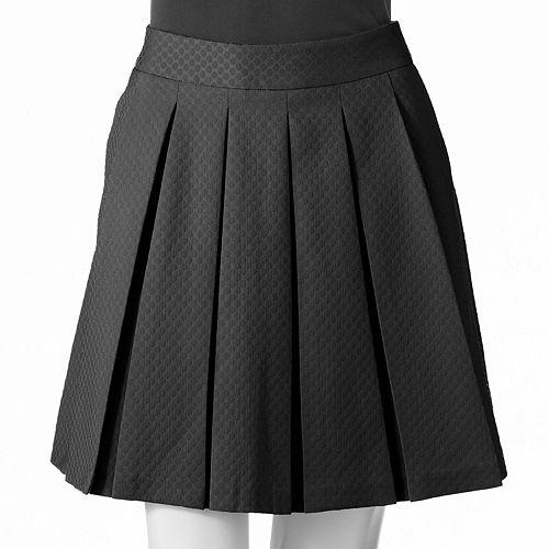 ELLE™ Dot Pleated Skirt