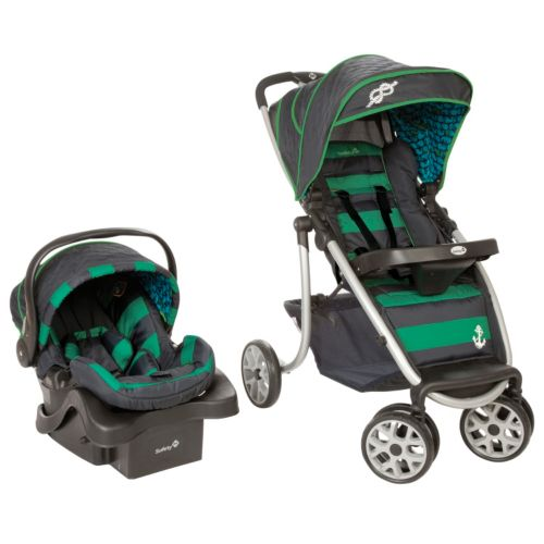 Safety 1st SleekRide Premier Travel System - Sail Away