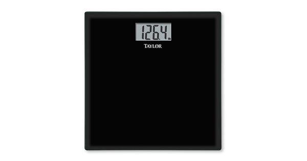 Taylor Glass Digital Bathroom Scale
