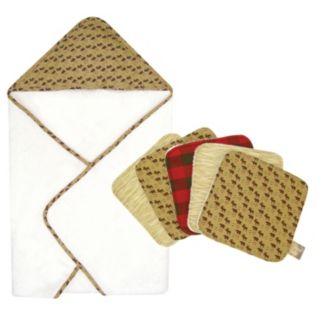 Trend Lab Northwoods Hooded Towel Set