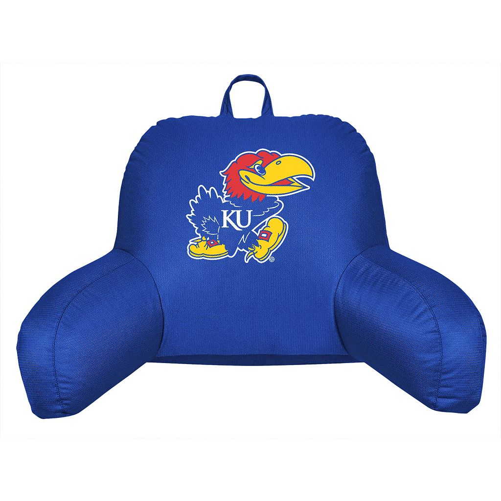 Kansas Jayhawks Sideline Backrest Pillow