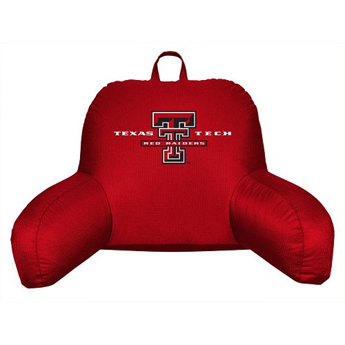 Texas Tech Red Raiders Sideline Backrest Pillow