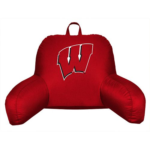 Wisconsin Badgers Sideline Backrest Pillow