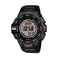 Casio Men's PRO TREK Solar Digital Chronograph Watch