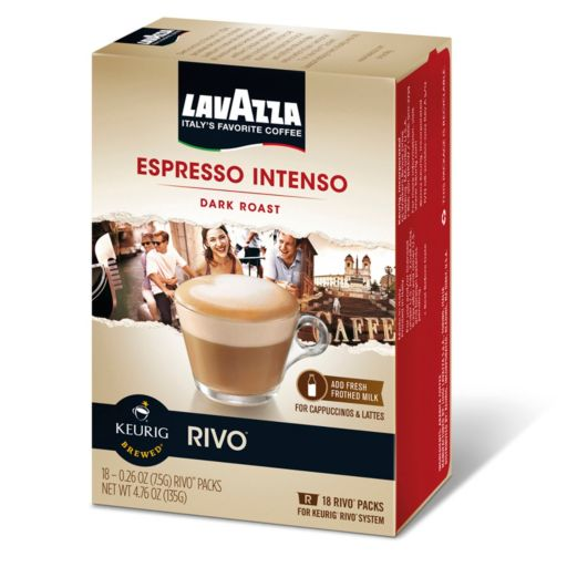 Keurig® Rivo® Lavazza Espresso Intenso Dark Roast - 18-pk.