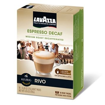 Keurig® Rivo® Lavazza Espresso Decaf Medium Roast - 18-pk.