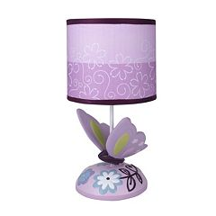 Lambs & Ivy Butterfly Lane Lamp