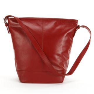 ili Leather Bucket Bag