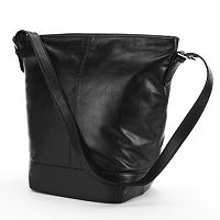 ili Leather Bucket Bag