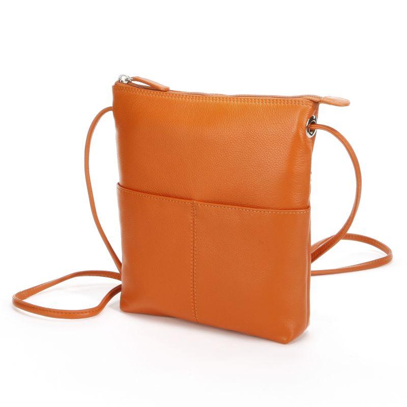 Zenith Leather Crossbody Bag 73