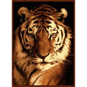United Weavers Legends Tiger Portrait Rug - 5'3'' x 7'2''