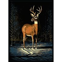 United Weavers Legends Winter Buck Rug - 5'3