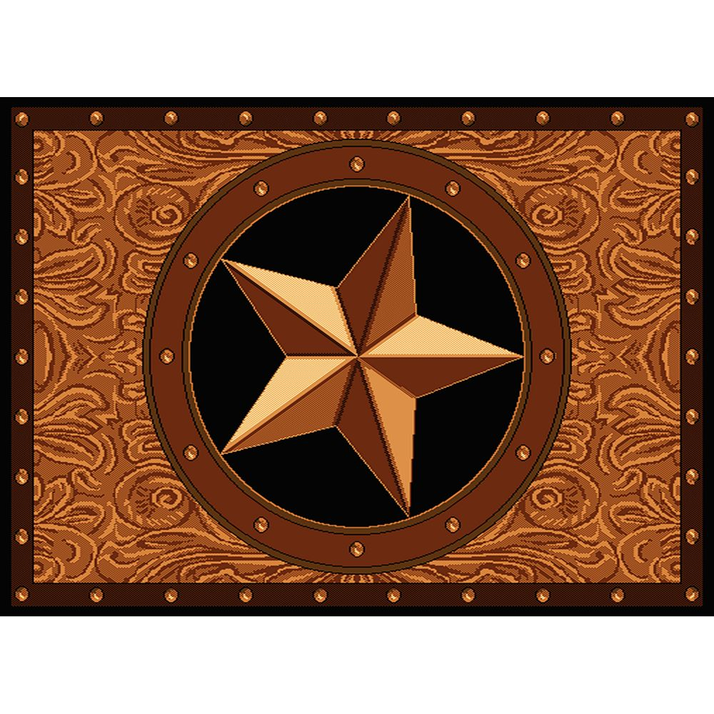 "United Weavers Legends Ranch Star Rug - 5'3"" x 7'2"""