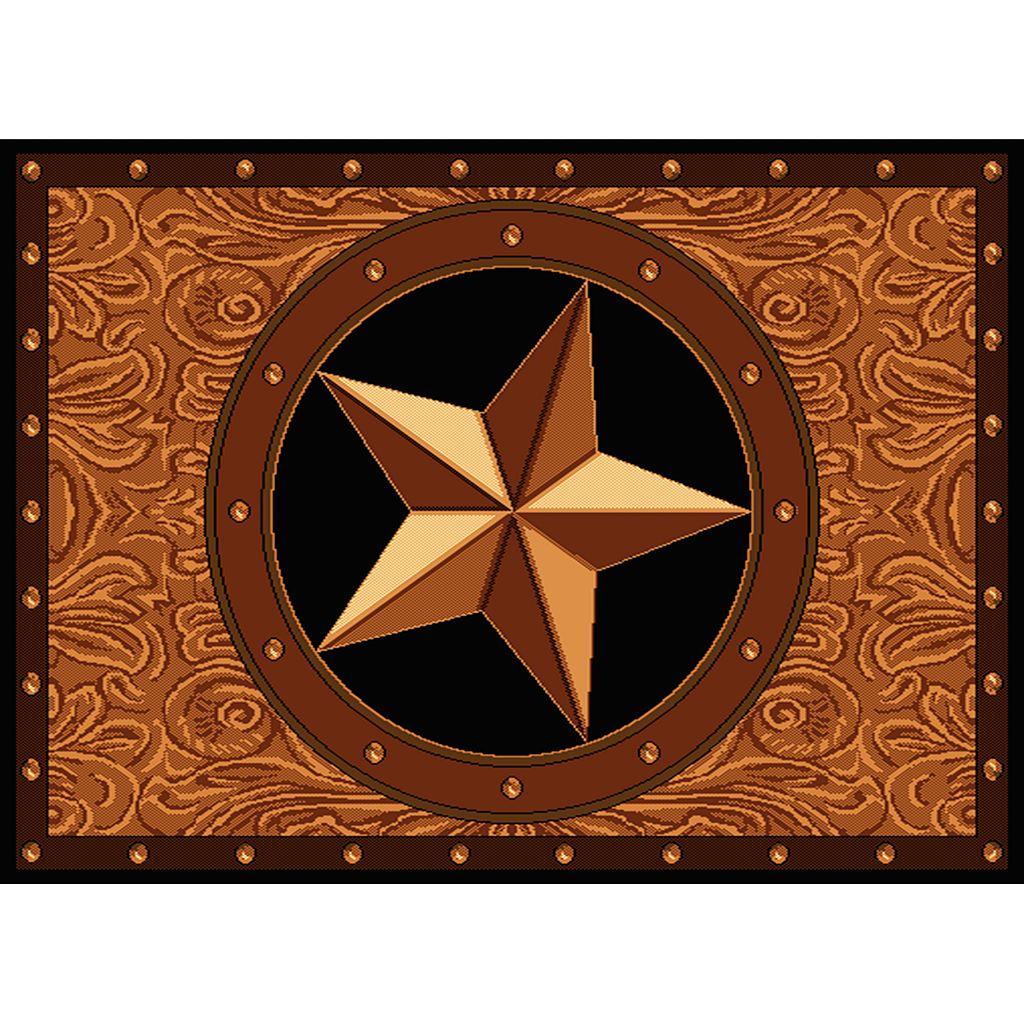 United Weavers Legends Ranch Star Rug - 5'3