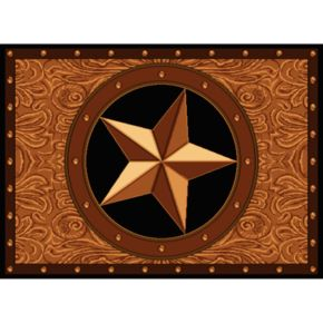 United Weavers Legends Ranch Star Rug - 5'3'' x 7'2''