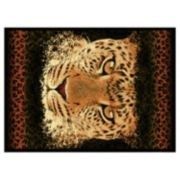 "United Weavers Legends Leopard Eyes Rug - 5'3"" x 7'2"""