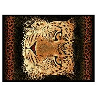 United Weavers Legends Leopard Eyes Rug - 5'3