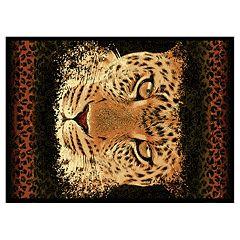 United Weavers Legends Leopard Eyes Rug - 5'3' x 7'2'