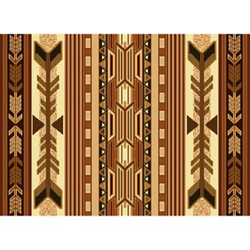 United Weavers Legends Broken Arrow Rug - 5'3