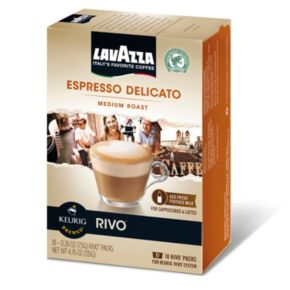 Keurig® Rivo® Lavazza Espresso Delicato Medium Roast Espresso - 18-pk.