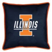 Illinois Fighting Illini Decorative Pillow