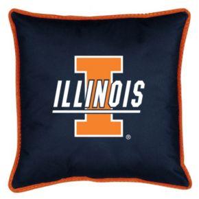 Illinois Fighting Illini Decorative Pillow