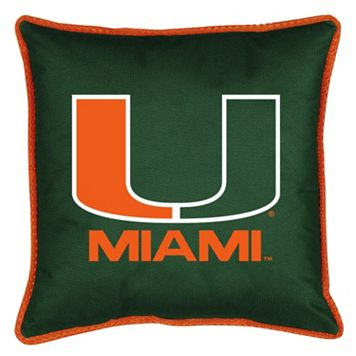 Miami Hurricanes Decorative Pillow
