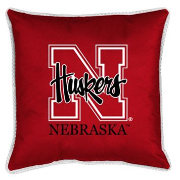 Nebraska Cornhuskers Decorative Pillow